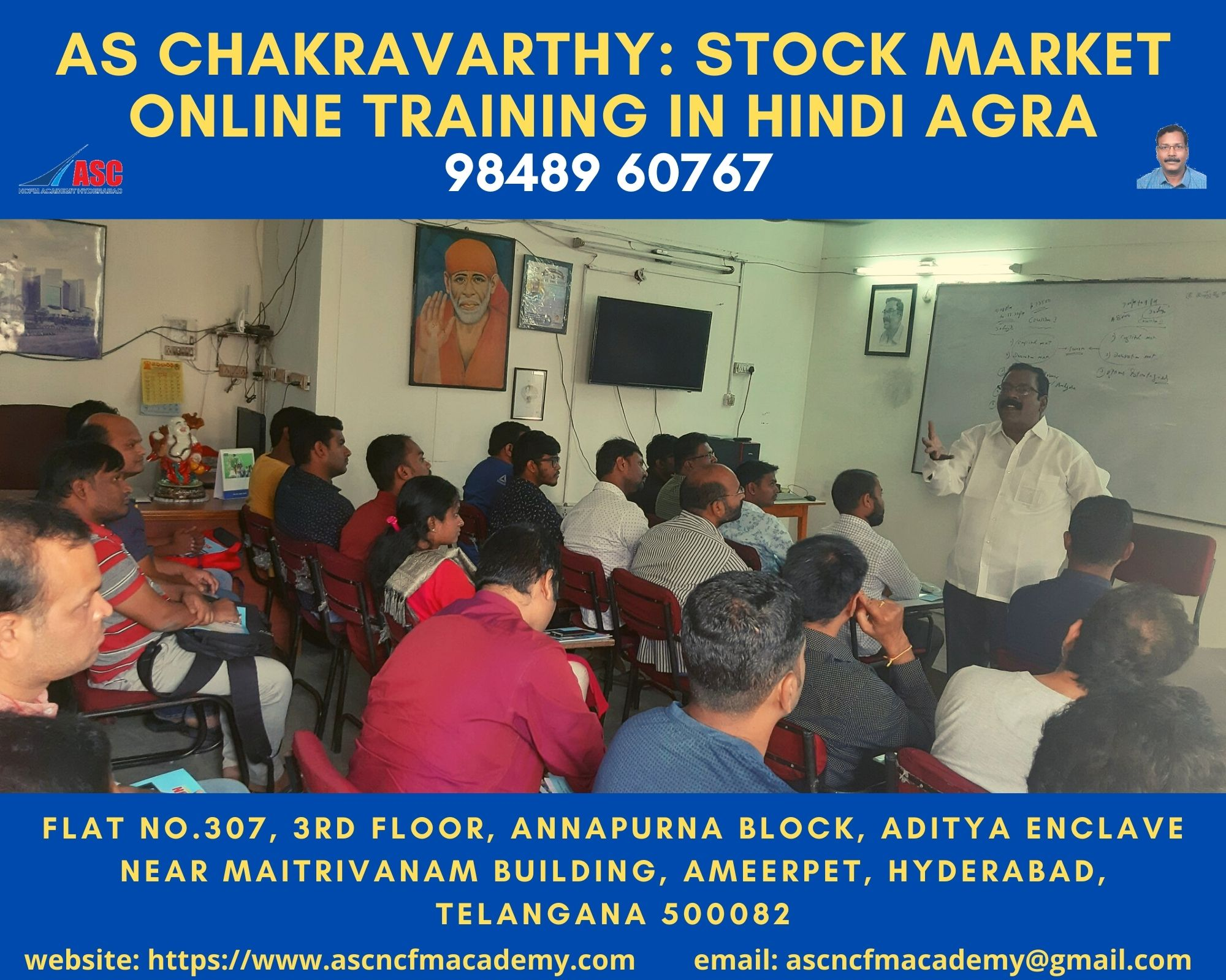 Online Stock Market Technical Training in Hindi Agra