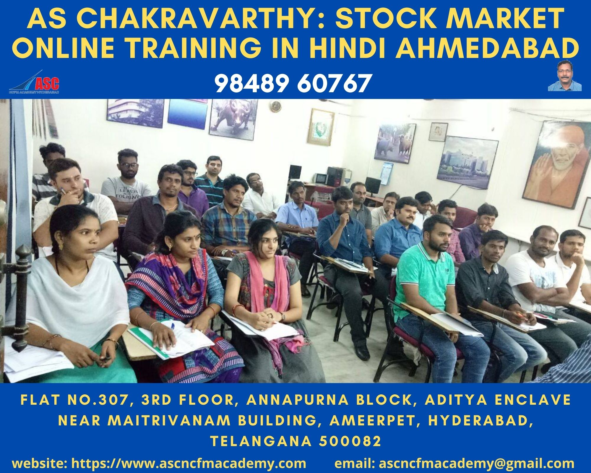 Online Stock Market Technical Training in Hindi Ahmedabad