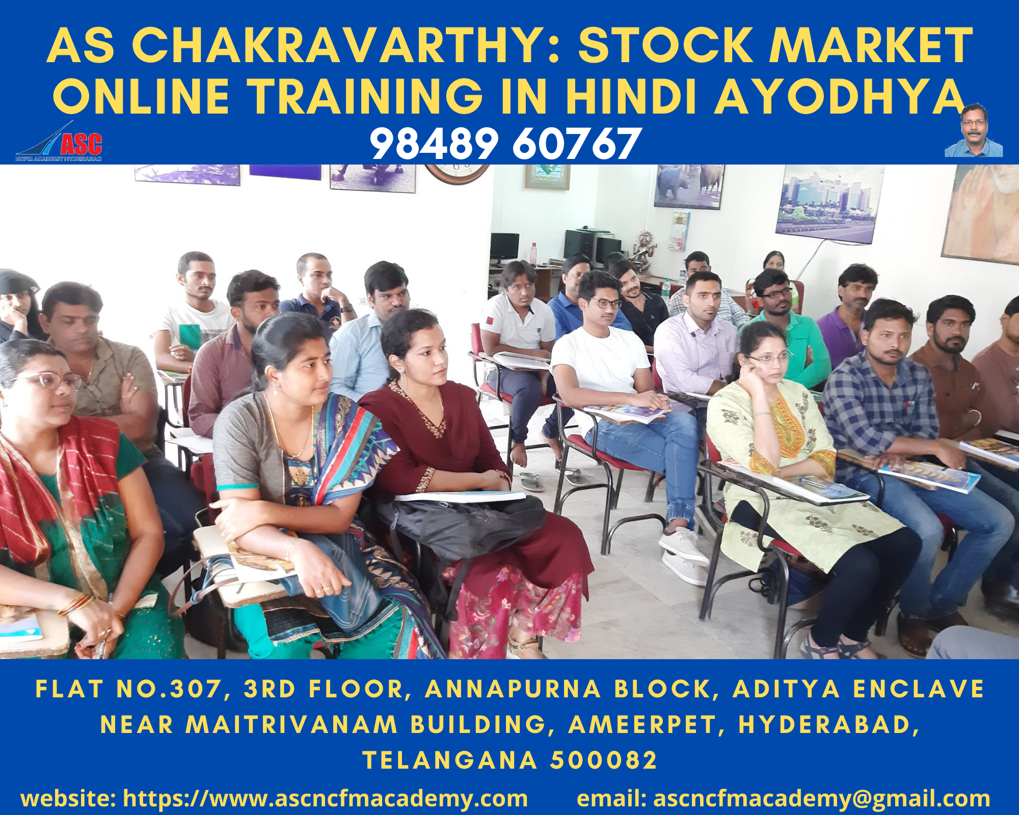 Online Stock Market Technical Training in Hindi Ayodhya