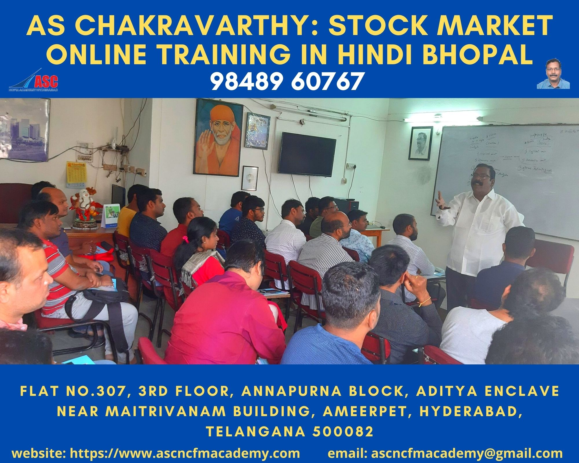 Online Stock Market Technical Training in Hindi Bhopal