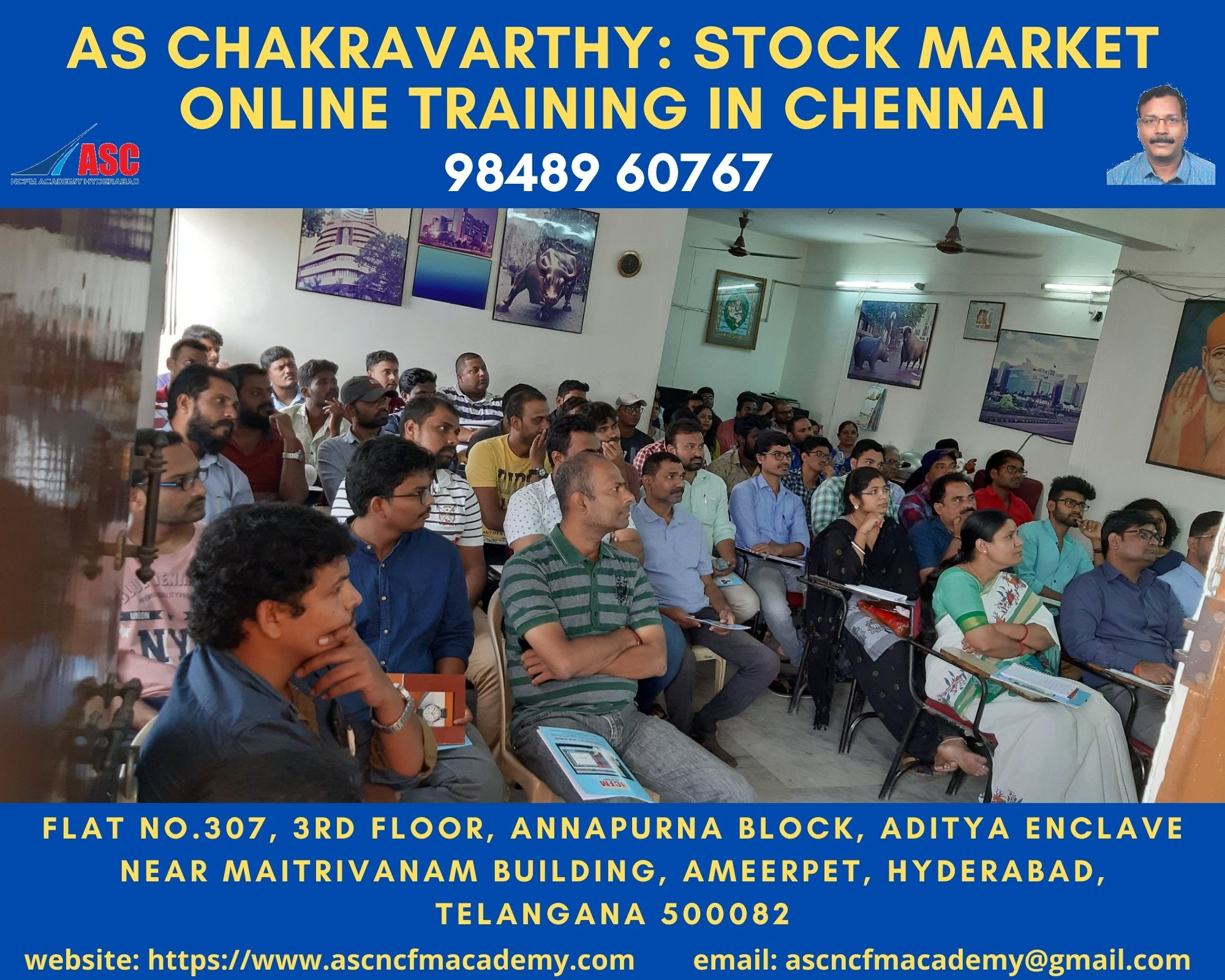 Online Stock Market Technical Training in Telugu Chennai