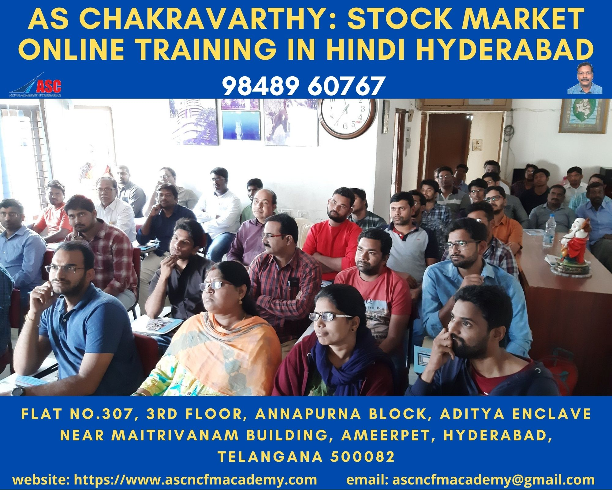 Online Stock Market Technical Training in Hindi Hyderabad