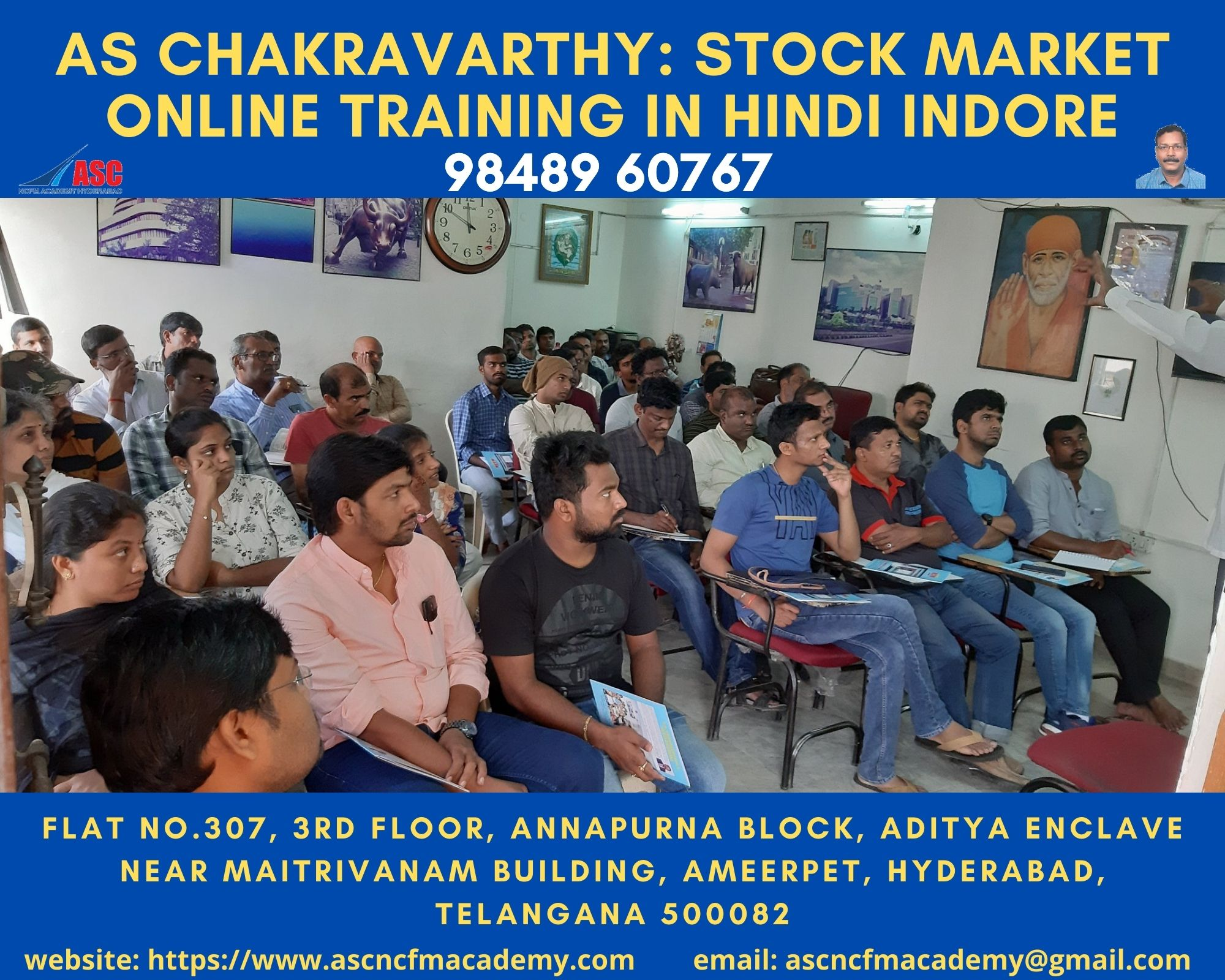Online Stock Market Technical Training in Hindi Indore