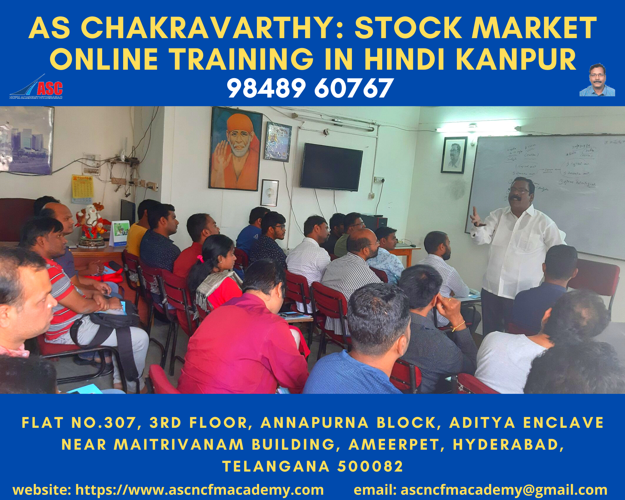 Online Stock Market Technical Training in Hindi Kanpur