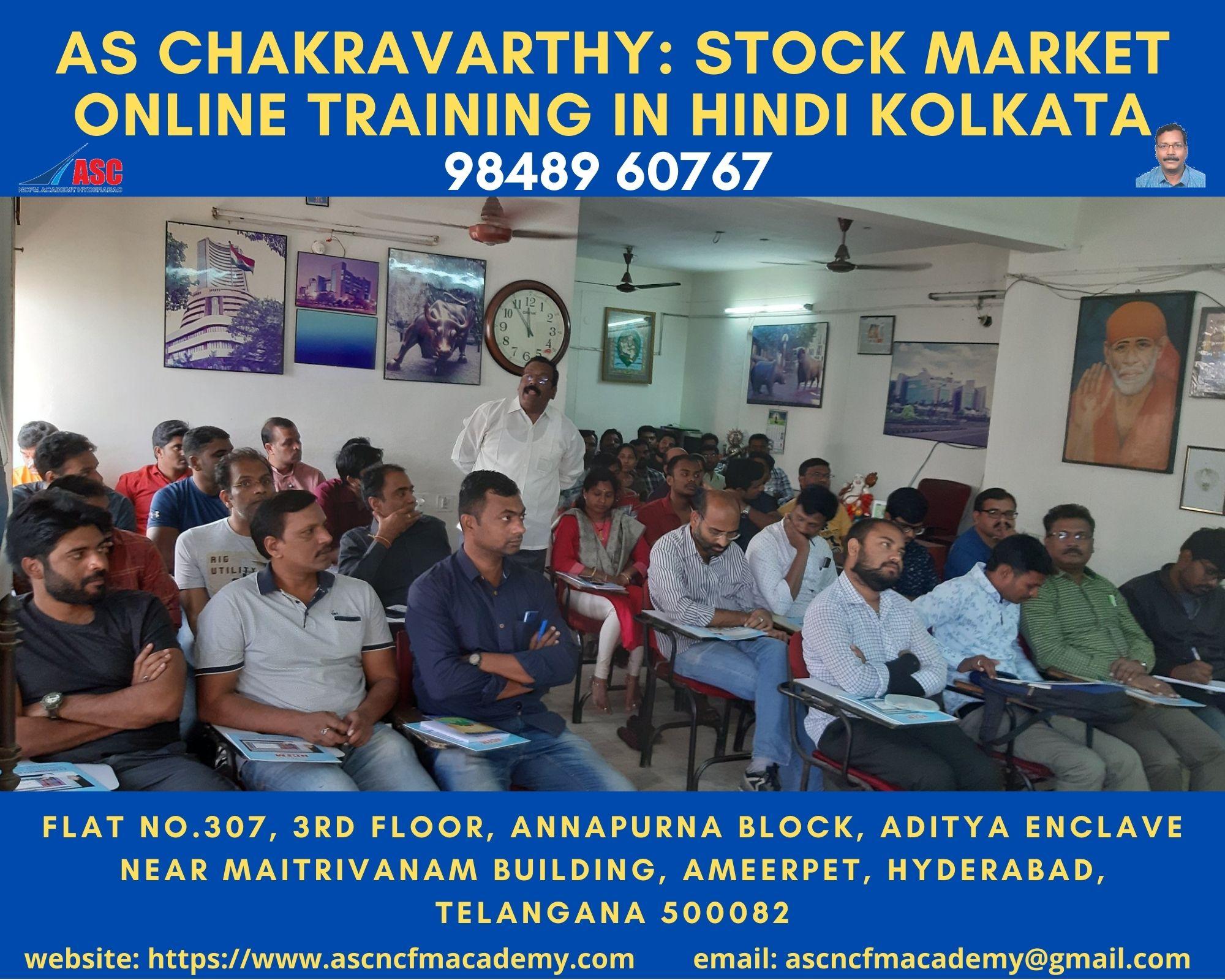 Online Stock Market Technical Training in Hindi Kolkata