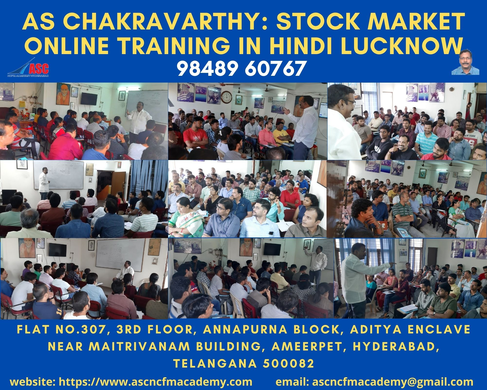 Online Stock Market Technical Training in Hindi Lucknow