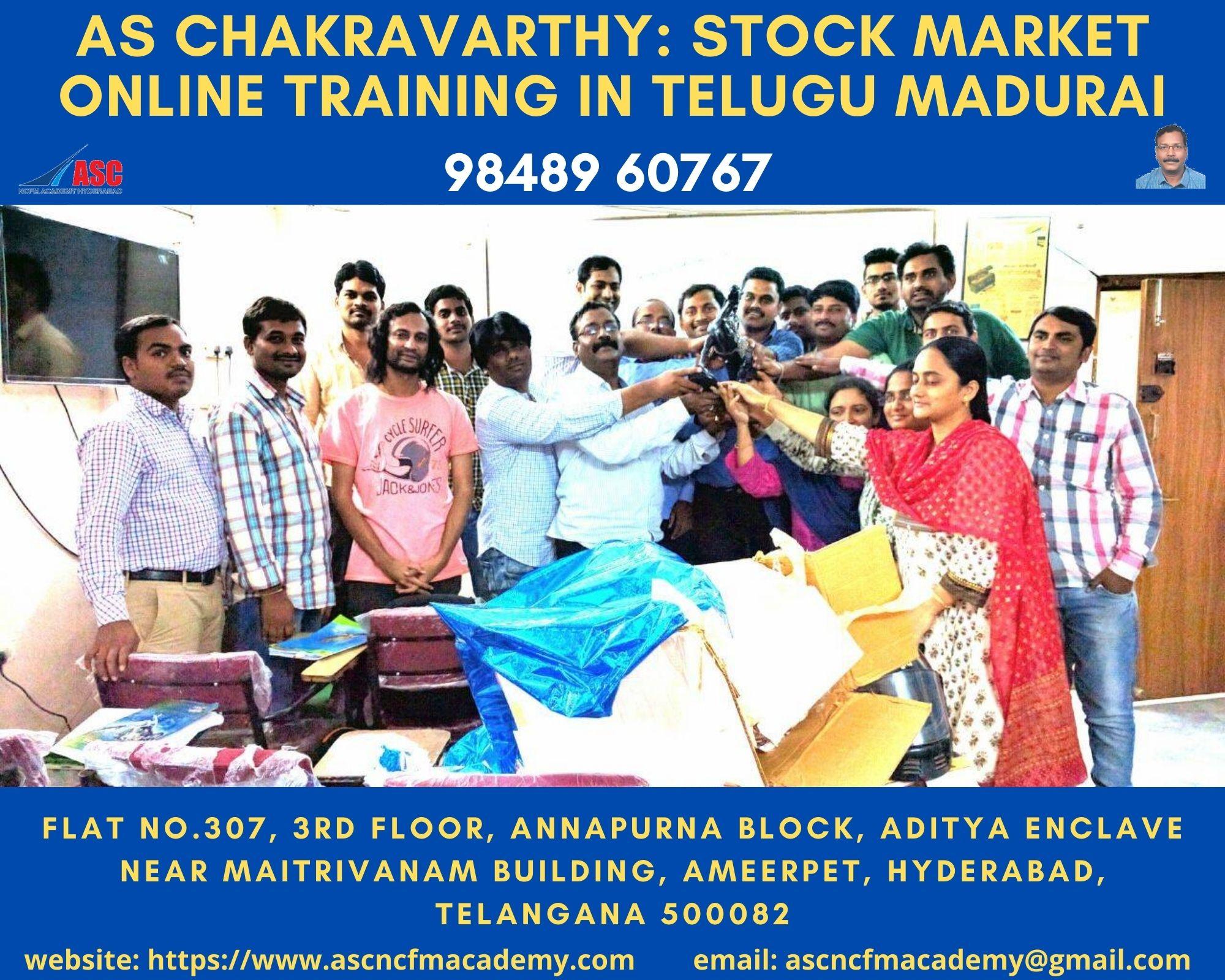 Online Stock Market Technical Training in Telugu Madurai