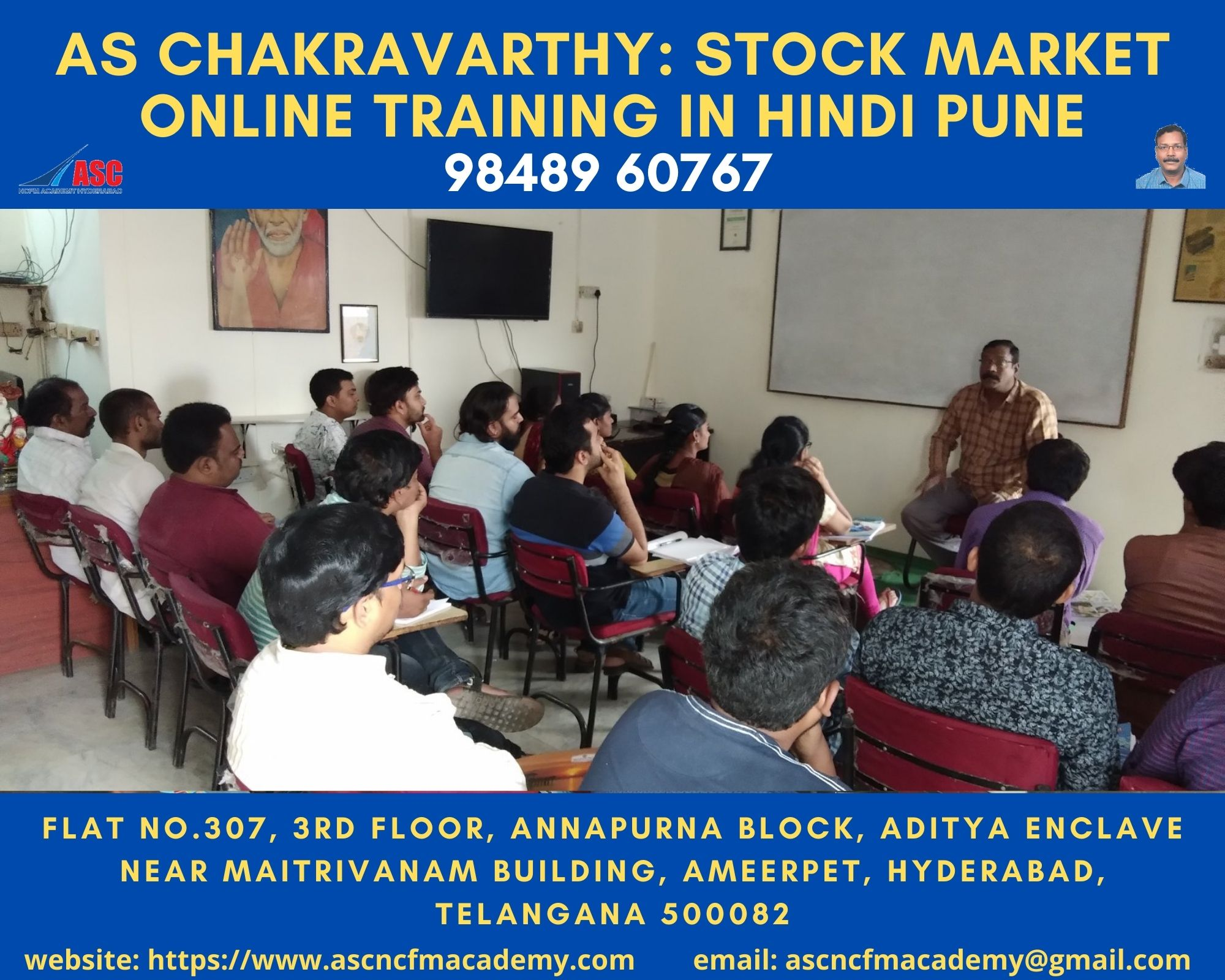 Online Stock Market Technical Training in Hindi Pune