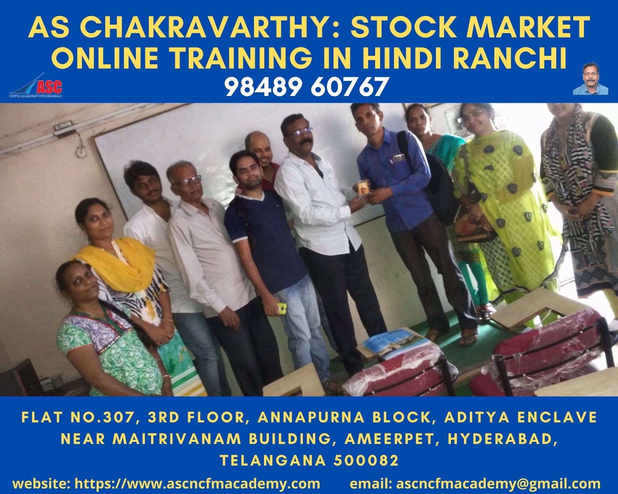 Online Stock Market Technical Training in Hindi Ranchi