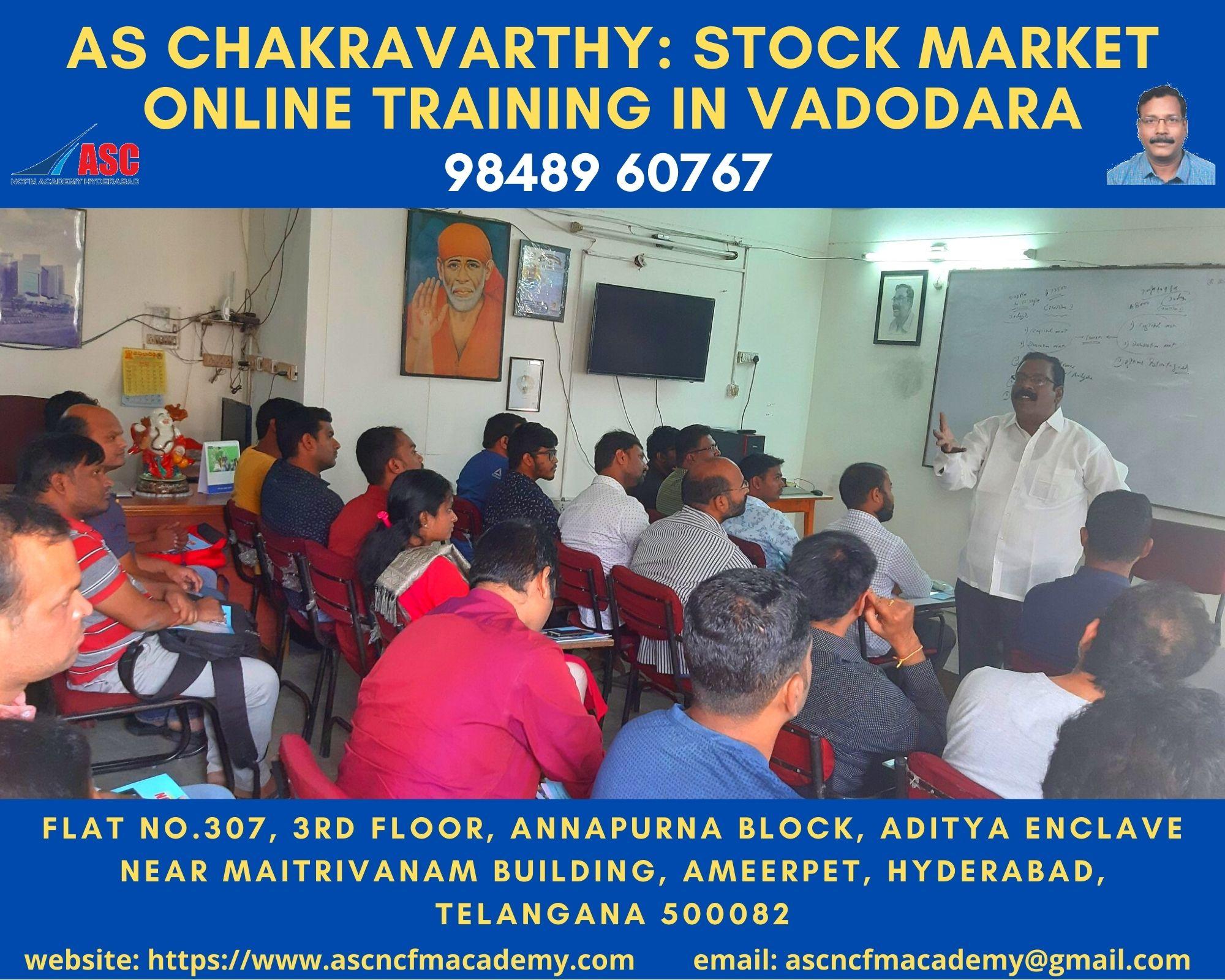 Online Stock Market Technical Training in Hindi Vadodara