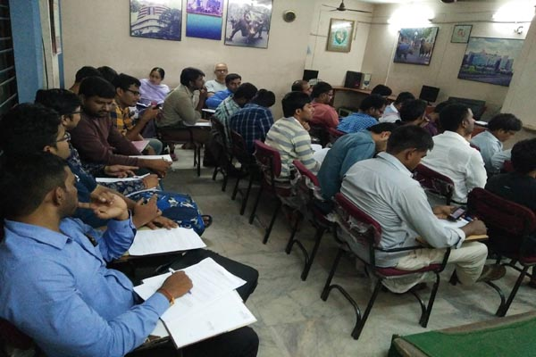 Stock Market Training Institute in Hyderabad by AS Chakravarthy : Batch No 577 Class