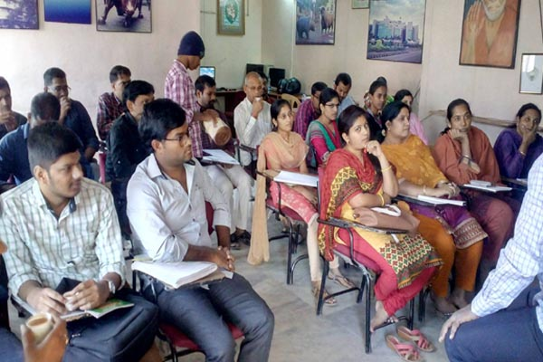 Best Institute for NCFM Course in Ameerpet Hyderabad : Batch No 587 Class