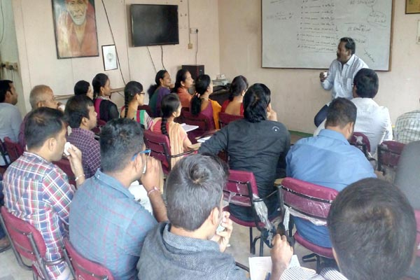 AS Chakravarthy NCFM Course Institute in Hyderabad : Batch No 587 Class