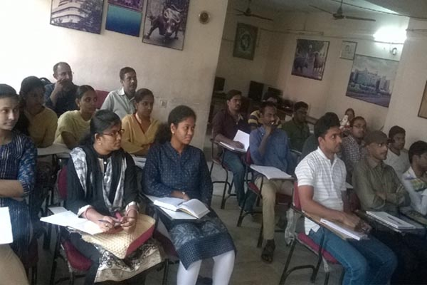 Best Institute for Stock Market Course in Hyderabad : Batch No 589 Class