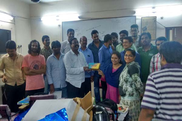 Best Training Institute by AS Chakravarthy Ameerpet Hyderabad : Celebration Photos