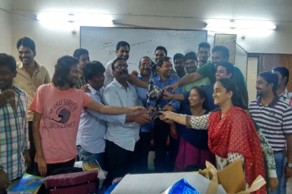 Share Trading Training in Hyderabad Ameerpet : Celebration Photos