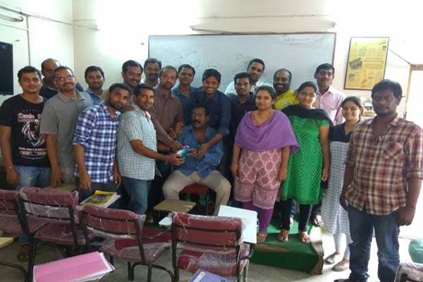 Share Trading Classes in Hyderabad Ameerpet : Celebration Photos
